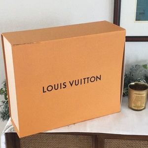 Louis Vuitton empty gift box